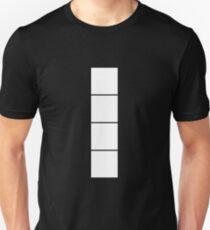 I Tetromino (the Tetris serie) Unisex T-Shirt