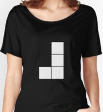 J Tetromino (the Tetris serie) Women's Relaxed Fit T-Shirt