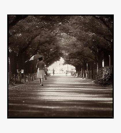 A Little Bit of France in Tokyo Photographic Print