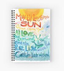 Long Time Sun Spiral Notebook