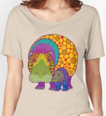 Hippiepotamus and Baba Women's Relaxed Fit T-Shirt