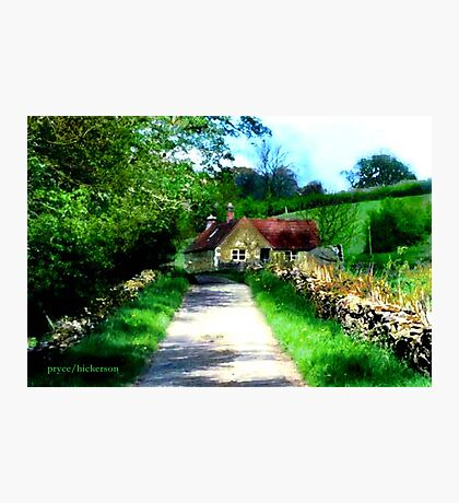 Cockshutt Cottage   Photographic Print