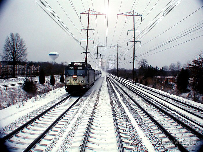 Train from Wilmington Series  by Jack McCabe