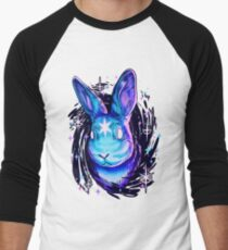 Black Hole Rabbit  Baseball ¾ Sleeve T-Shirt