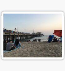 Santa Monica Prints! Sticker