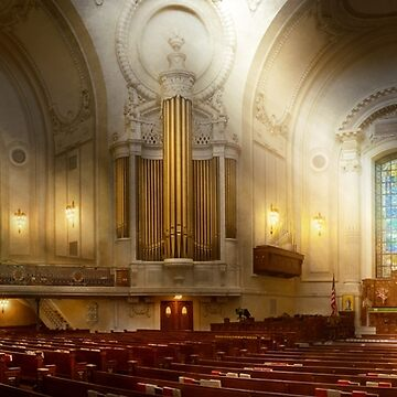 City - Naval Academy - The Chapel by mikesavad