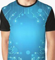 Circuit vector Graphic T-Shirt