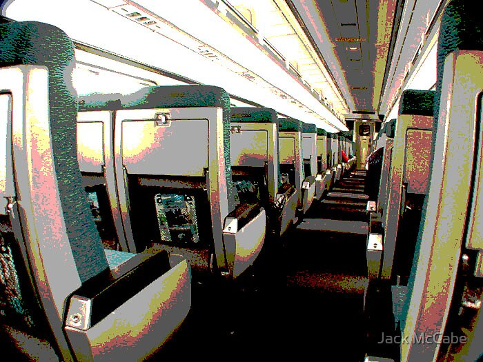 Train from Wilmington Series | Coach to myself by Jack McCabe