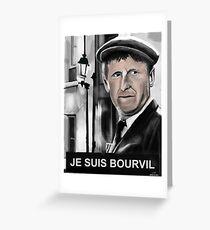 Bourvil Greeting Card