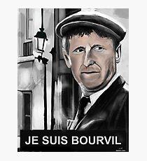 Bourvil Photographic Print
