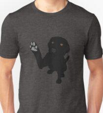 Give me Paw - - Black Lab  T-Shirt
