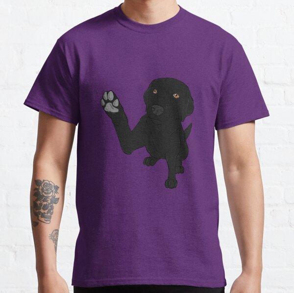 Give me Paw - - Black Lab  Classic T-Shirt
