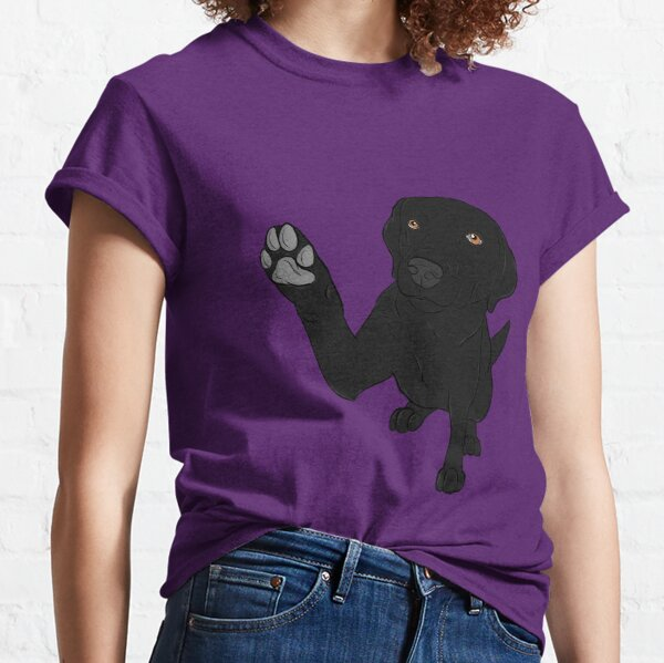 Give me Paw - - Black Lab  Classic T-Shirt