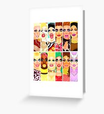 DRAG QUEEN ROYALTY Greeting Card