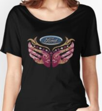 Ford Breast Cancer Women's Relaxed Fit T-Shirt