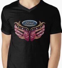 Ford Breast Cancer Men's V-Neck T-Shirt