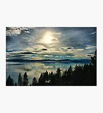 Tahoe Blues Photographic Print