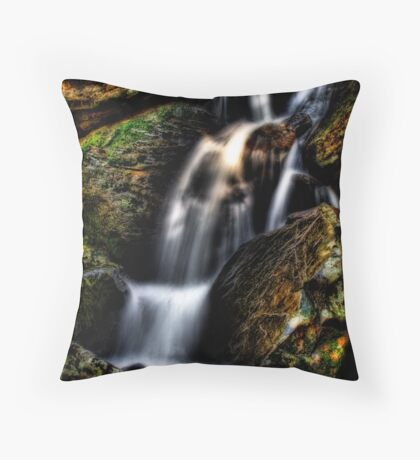 Ethereal Stream Throw Pillow