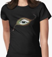 Leyef. Leaf, Eye, Life Women's Fitted T-Shirt