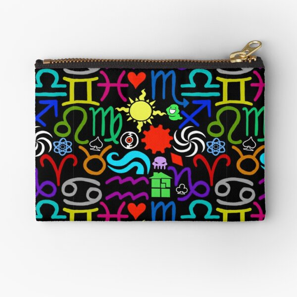 Homestuck Pattern Zipper Pouch