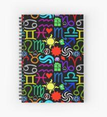 Homestuck Pattern Spiral Notebook