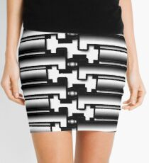 Tech Tiling Mini Skirt