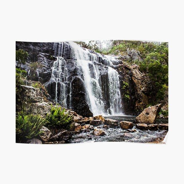 Mackenzie Falls, Grampians, Victoria Poster