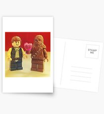 Han Loves Chewy Postcards