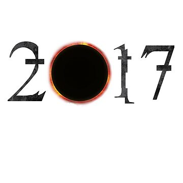 Total Solar Eclipse 2017 Summer Road Trip Novelty T-Shirt by arnaldog