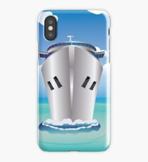 Cruise Liner in the Sea iPhone Case/Skin