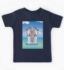 Cruise Liner in the Sea Kids Tee