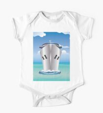 Cruise Liner in the Sea Kids Clothes
