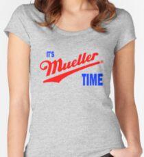 es ist mueller Zeit Tailliertes Rundhals-Shirt