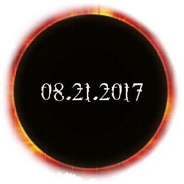 Total Solar Eclipse 08.21.2017 Cool Solar Eclipse Merchandise by arnaldog