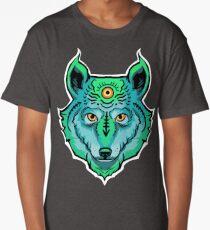 Third Eye Ghost Wolf Long T-Shirt