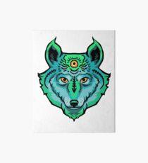 Third Eye Ghost Wolf Art Board