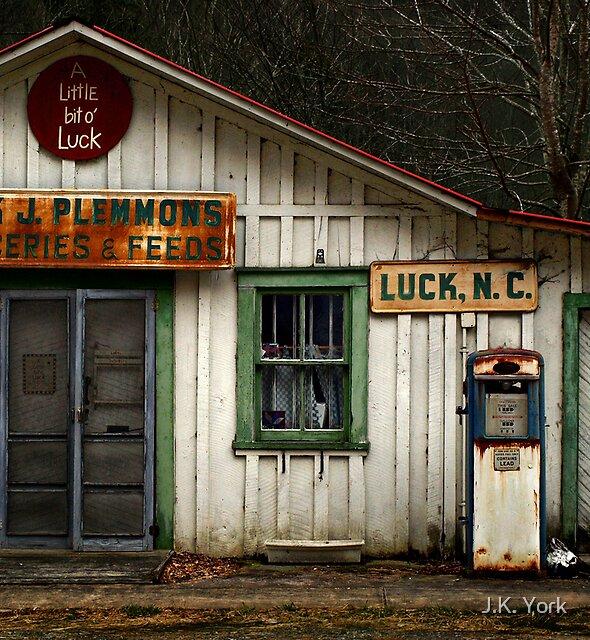 a little bit of luck by J.K. York
