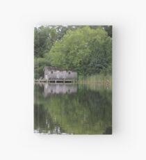 Old Boat House Hardcover Journal