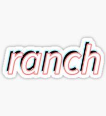 ranch Sticker