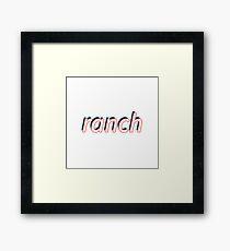 ranch Framed Print