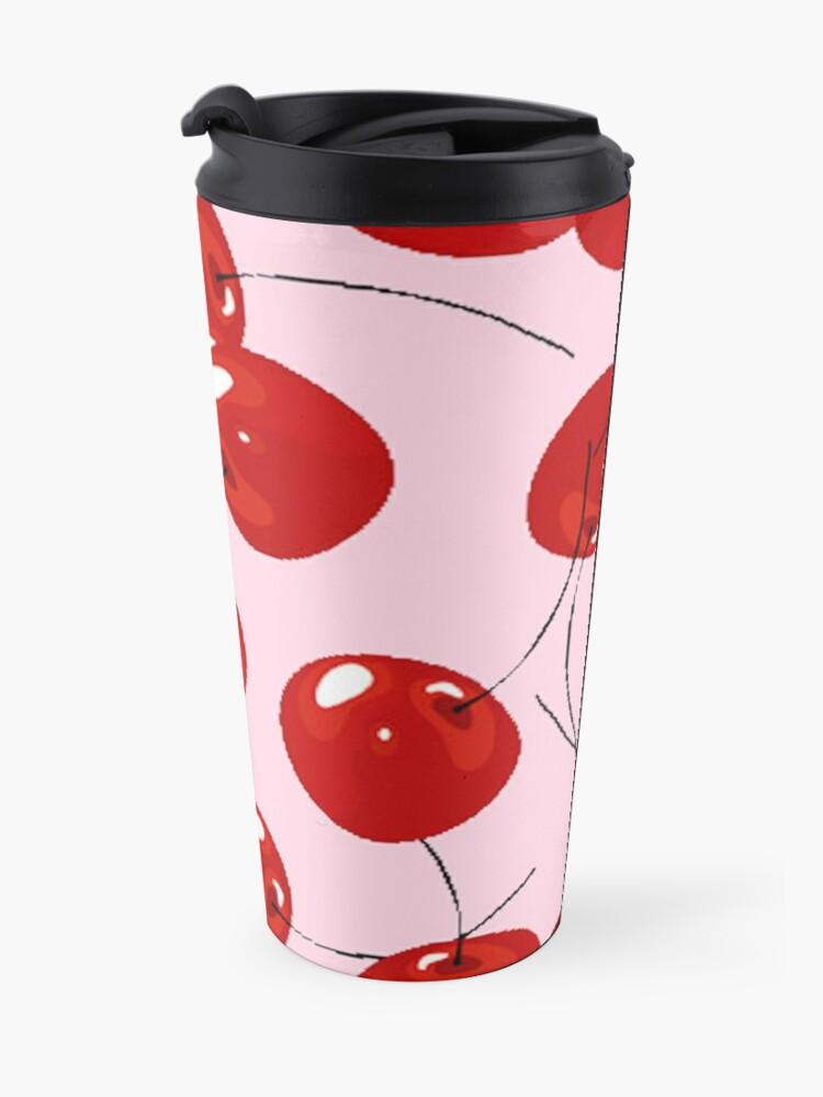 Alternate view of Cheery Cherries Jubilee  Travel Mug