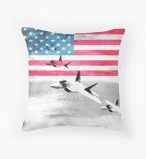 United States Air Force(USAF) Throw Pillow