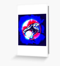 thundercats blue1 Greeting Card