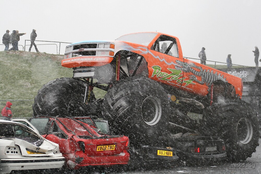monster truck by missdaisy