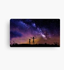 Rick And Morty (3 Colors) Canvas Print