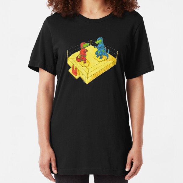 Rock Em Sock Em T-Rex Slim Fit T-Shirt
