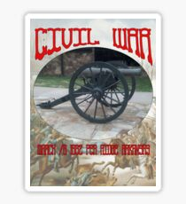 Pea Ridge Battlefield Canon Sticker