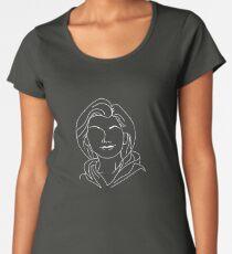 Thirteenth Doctor - Jodie Whittaker (White) Women's Premium T-Shirt
