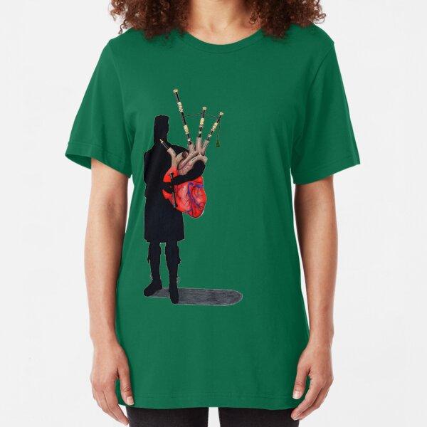 Scottish Heart Slim Fit T-Shirt
