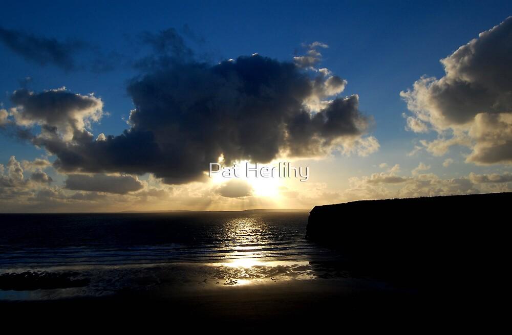 Ballybunion Sunset by Pat Herlihy